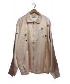 FLAGSTUFF(フラッグスタフ)の古着「ベトナムジャケット」|ピンク