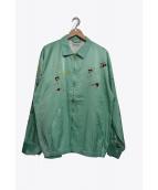 FLAGSTUFF(フラッグスタフ)の古着「ベトナムジャケット」|グリーン