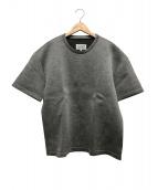 Martin Margiela14(マルタンマルジェラ14)の古着「ネオプレン半袖Tシャツ」|グレー