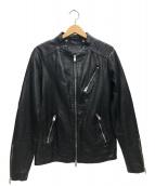 ALL SAINTS(オールセインツ)の古着「ハーウッドジャケット」|ブラック