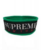 Supreme(シュプリーム)の古着「フリースヘッドバンド」|ネイビー