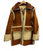 UNUSED(アンユーズド)の古着「ムートンコート」|ブラウン