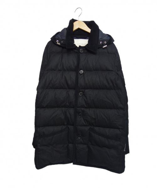 MACKINTOSH(マッキントッシュ)MACKINTOSH (マッキントッシュ) ウールダウンジャケット ブラック サイズ:40 定価¥148000の古着・服飾アイテム