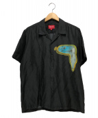 Supreme(シュプリーム)の古着「ザパーシステンスオブメモリーシルクシャツ」 ブラック