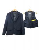 STUDIO SEVEN(スタジオ セブン)の古着「3ピーススーツ」|ネイビー