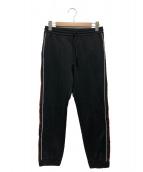 GUCCI(グッチ)の古着「側章ジャージトラックパンツ」|ブラック