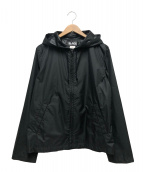 BLACK COMME des GARCONS × NIKE(ブラックコムデギャルソン × ナイキ)の古着「フーデットブルゾン」 ブラック