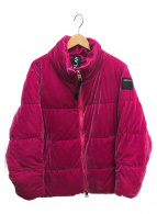 REPLAY(リプレイ)の古着「中綿ブルゾン」 ショッキングピンク