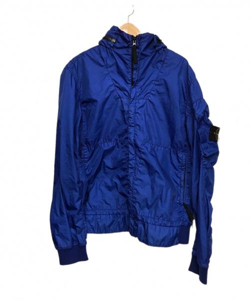 STONE ISLAND(ストーンアイランド)STONE ISLAND (ストーンアイランド) ナイロンジャケット ブルー サイズ:L 641541523  定価¥102300円 MEMBRANA 3L TCの古着・服飾アイテム