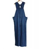 UNUSED(アンユーズド)の古着「オーバーオール」|ブルー
