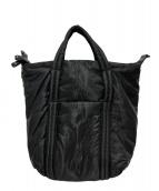 Maison Margiela11(メゾン マルジェラ 11)の古着「2WAYショッパーバッグ」|ブラック