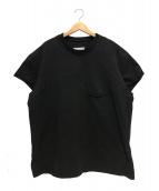 Maison Margiela 10(メゾン マルジェラ 10)の古着「ダメージポケットTシャツ」|ブラック