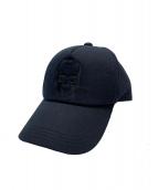 lucien pellat-finet(ルシアンペラフィネ)の古着「キャップ」 ブラック