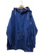 POLO RALPH LAUREN(ポロ・ラルフローレン)の古着「フーデッドコート」|ブルー