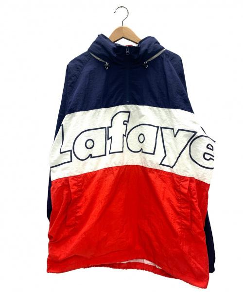 Lafayette(ラファイエット)Lafayette (ラファイエット) ロゴクラシックナイロンアノラックジャケット ネイビー サイズ:XL LOGO CLASSIC NYLON ANRK JACKET LFT18AW001の古着・服飾アイテム