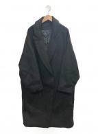 AP STUDIO(エーピーストゥディオ)の古着「ビッグシルエットコート」|ブラック