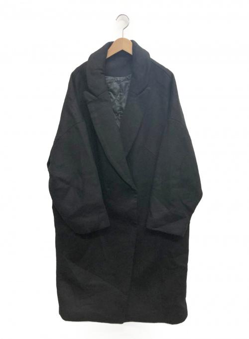 AP STUDIO(エーピーストゥディオ)AP STUDIO (エーピーストゥディオ) ビッグシルエットコート ブラック サイズ:03の古着・服飾アイテム