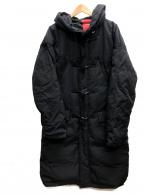 NOISE MAKER(ノイズメーカー)の古着「ダウンダッフルコート」|ブラック