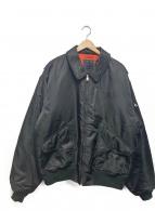 GUESS(ゲス)の古着「ボンバージャケット」|ブラック