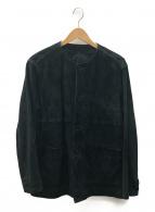 nestrobe confect(ネストローブ コンフェクト)の古着「やぎ革レザージャケット」 ブラック