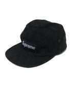 Supreme(シュプリーム)の古着「パッチワークキャップ」|ブラック
