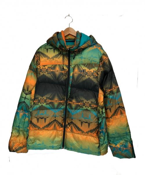 NIKE ACG(ナイキエーシージ)NIKE ACG (ナイキエーシージ) フィルガイドダウンジャケット マルチカラー サイズ:M 209730-062 定価¥33,000の古着・服飾アイテム
