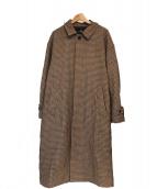 HARE(ハレ)の古着「ステンカラーコート」|ブラウン