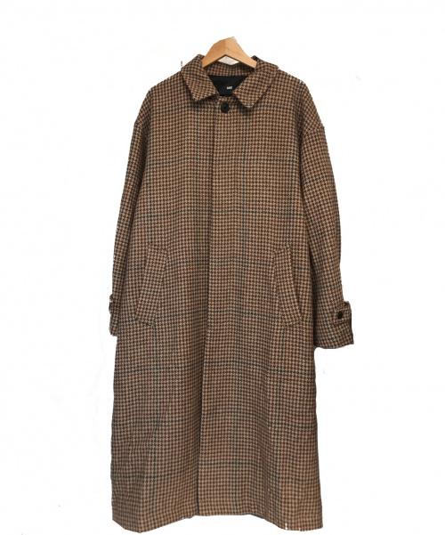 HARE(ハレ)HARE (ハレ) ステンカラーコート ブラウン サイズ:Mの古着・服飾アイテム