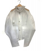 UNUSED(アンユーズド)の古着「PVCジャケット」|グレー