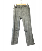 PHINGERIN(フィンガリン)の古着「ボンテージパンツ」|グレー