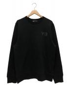Y-3(ワイスリー)の古着「スウェット」|ブラック