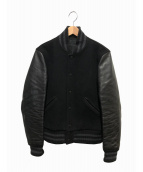 Rags McGREGOR(ラグスマックレガー)の古着「オリジナルメルトンスタジャン」|ブラック