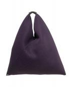 MM6(エムエムシックス)の古着「サンカクメッシュトートバッグ」|パープル