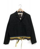 UNDERCOVER(アンダーカバー)の古着「ショートジャケット」|ブラック