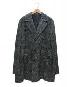 BOGLIOLI(ボリオリ)の古着「ウールコート」 グリーン