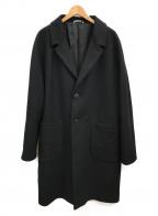 HEVO(イーヴォ)の古着「ウールコート」|ブラック