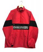 CHALLENGER(チャレンジャー)の古着「ロゴプルオーバー」|レッド