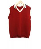 DELADA(デラダ)の古着「RED VEST」|レッド