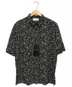 Saint Laurent Paris(サンローランパリ)の古着「ショートスリーブシャツ」 ブラック