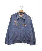 WEIRDO(ウィアード)の古着「リバーシブルジャケット」 ブルー