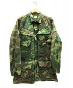 US ARMY(米軍)の古着「ジャングルファティーグジャケット」|カーキ