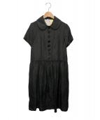TAO COMME des GARCONS(タオ コムデギャルソン)の古着「ラメワンピース」|ブラック