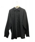 ISSEY MIYAKE(イッセイミヤケ)の古着「レギュラーカラーシャツ」|ブラック