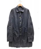Valstar(バルスター)の古着「製品染めコート」|ネイビー