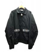 THE BLACK EYE PATCH(ザブラックアイパッチ)の古着「テープブルゾン」|ブラック