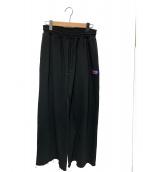 LABRAT(ラブラット)の古着「ワイドスウェットパンツ」|ブラック