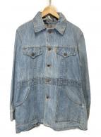 LEVIS(リーバイス)の古着「70'sヴィンテージブッシュジャケット」|インディゴ