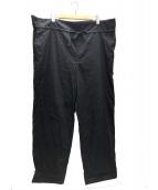 CLANE(クラネ)の古着「ミリタリーシャーリングパンツ」|ブラック