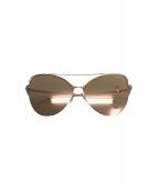 Tiffany & Co.(ティファニー)の古着「ペーパーフラワーズサングラス」 ゴールド