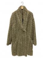 ISABEL MARANT ETOILE(イザベルマラン エトワール)の古着「フェイクファーコート」|オリーブ